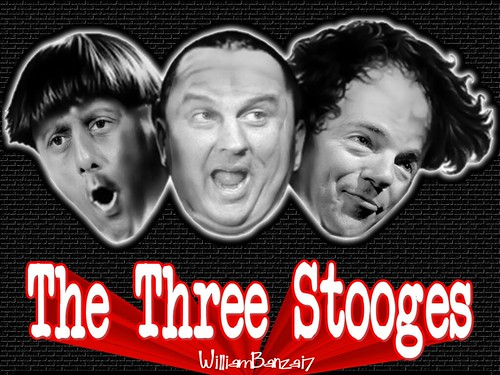 THE THREE ROMNEY STOOGES by Colonel Flick