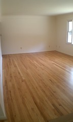the floor--after!