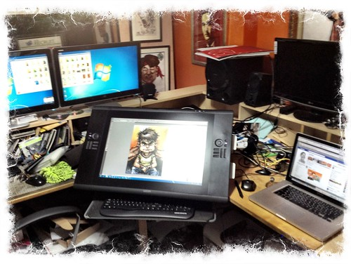 Wacom Cintiq 24HD setup and test drive