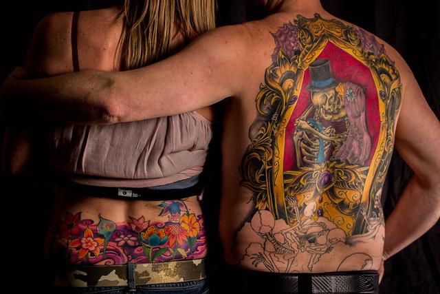 39 til death do us part 3 beyond the ink all tattoos by for Until death do us part tattoo