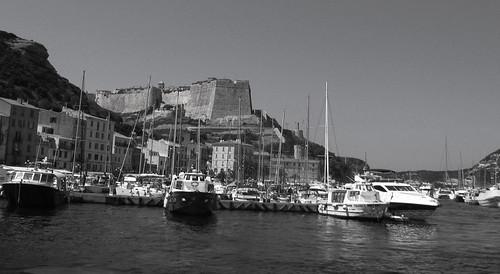 Bonifacio city, Corsica