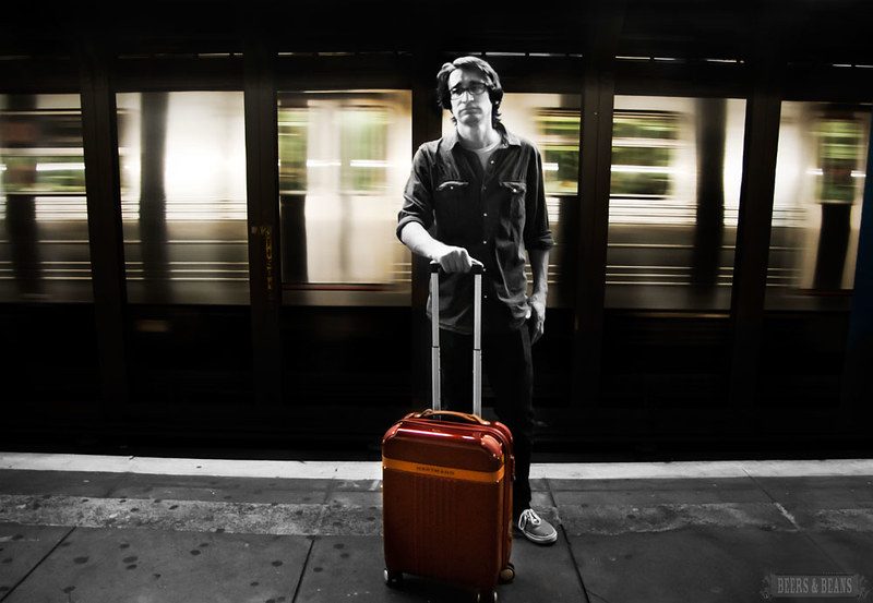 Hartmann Luggage PC4 Promo shots from NYC
