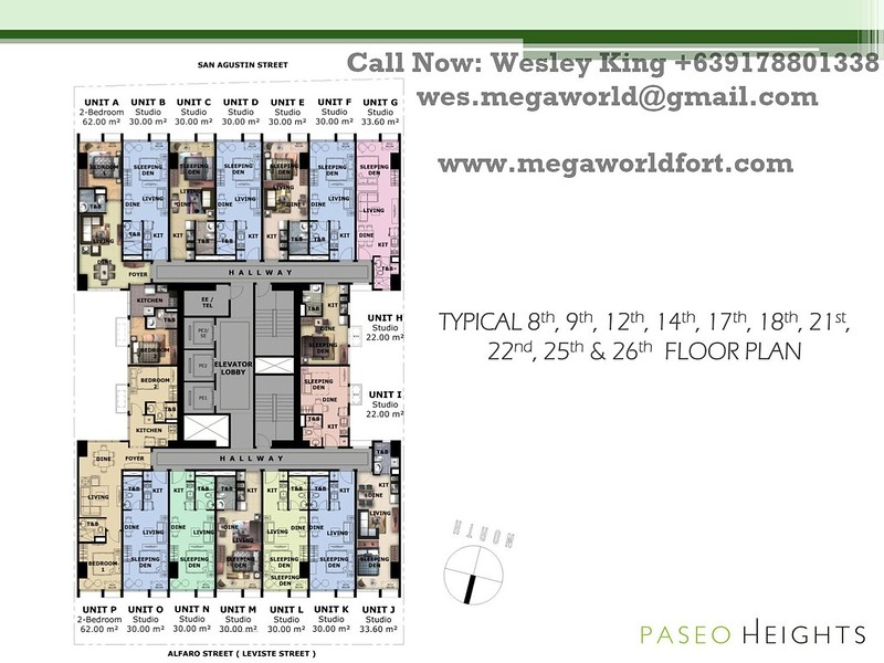 Paseo Heights Floorplan