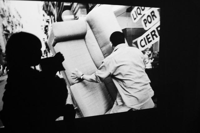 Inauguració de l'Exposició Raval, de la Consuelo Bautista, a l'AFB