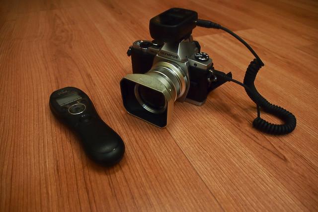E-M5 + PixeL無線快門線
