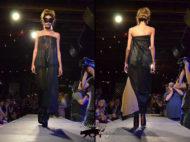 Kelly Calabrese - Madame Trapeze Fashion Show 05-12-12