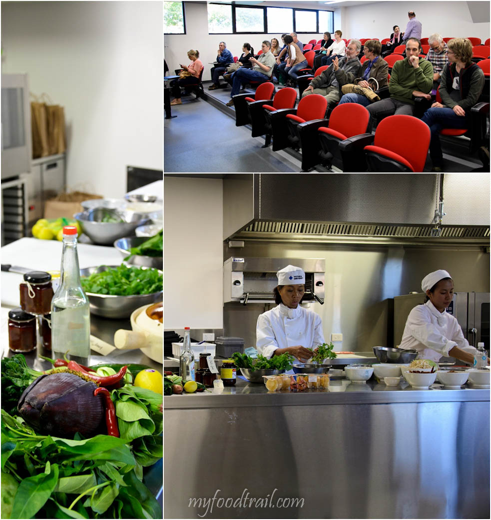 MFWF 2012 Event - Cooking class at Victoria University