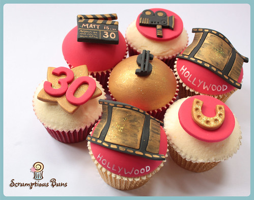 Hollywood Cupcakes by Scrumptious Buns (Samantha)