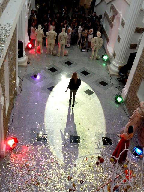 Минск Ночь музеев 2012 Рыцари в валенных доспехах и древо жизни