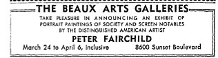 fairchild art show 1942
