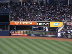 385 Feet to Center Field, Yankee Stadium