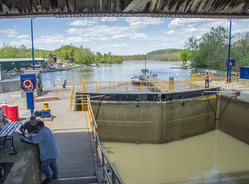 Champlain Canal - First Lock