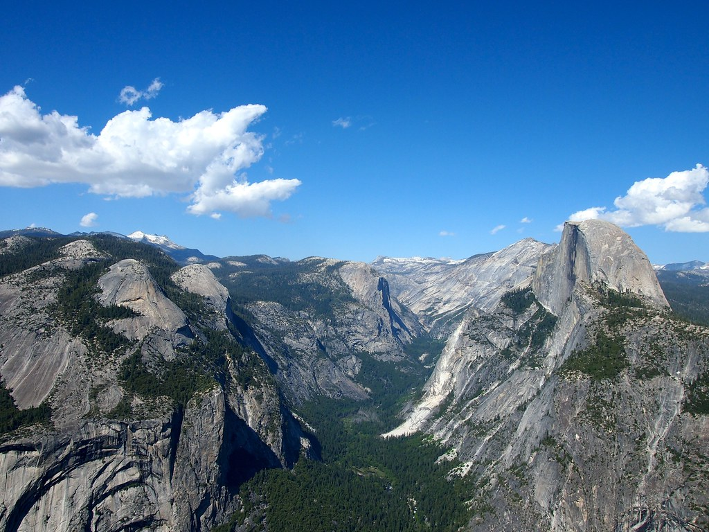 Half Dome, Glacier Point, Yosemite National Park