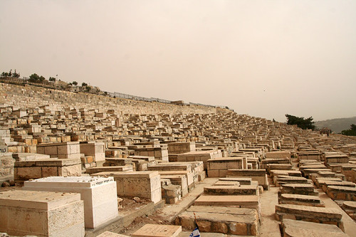 Jewish graves