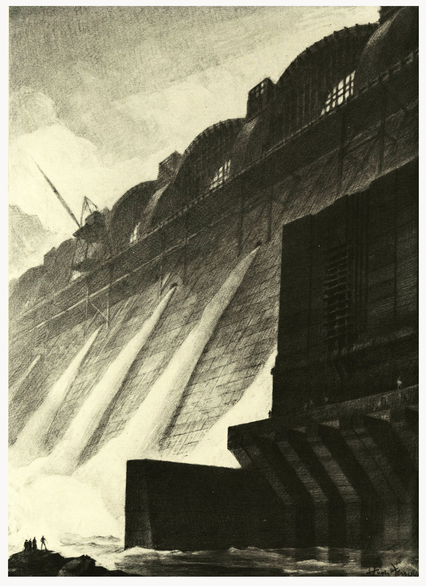 1000 Images About Hugh Ferriss Drawings On Pinterest