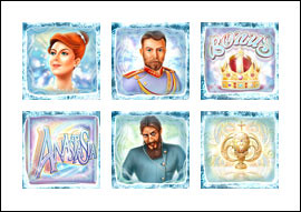 free The Lost Princess Anastasia slot game symbols
