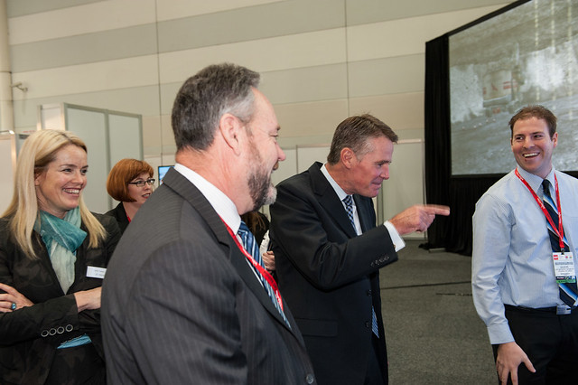 CeBIT 2012 - VIP Showfloor Tours - NSW Deputy Premier