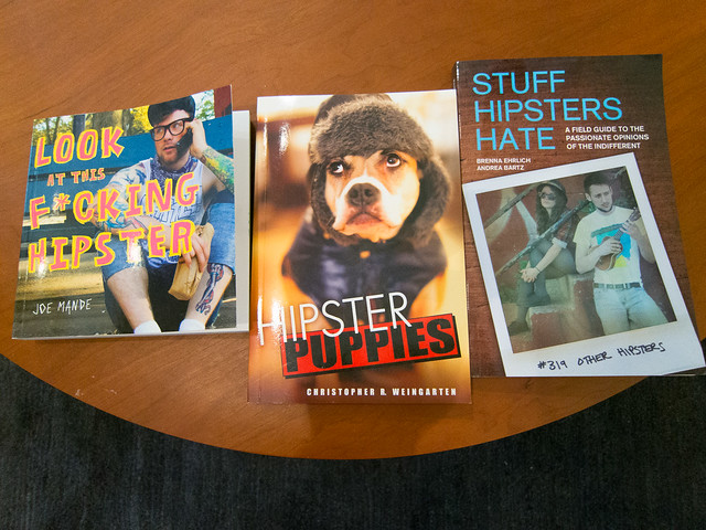 Hipster Books at Tumblr HQ