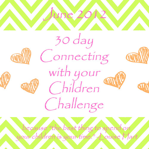 30 Day Connecting with your Children Challenge