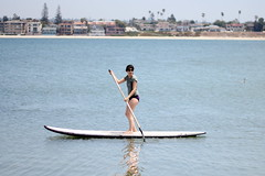 surface water sports, surfing--equipment and supplies, sports, water sport, stand up paddle surfing, paddle,