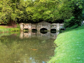 Shell Bridge, Stowe Gardens