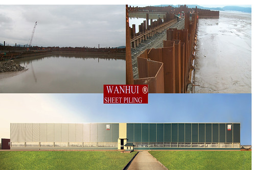top sheet pile supplier,wanhui sheet piling