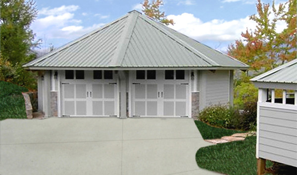 Topsider Homes Prefab 2 Car Garage Kit Flickr Photo