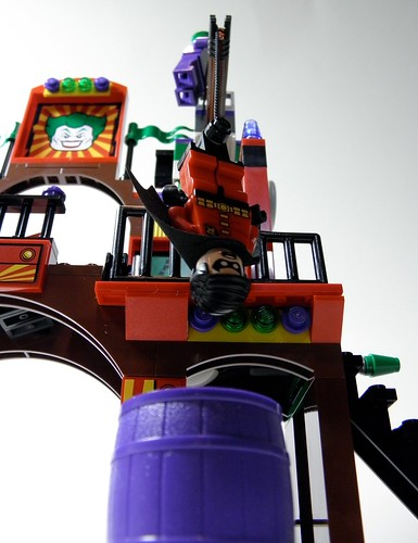 6857 funhouse Joker crane acid vat 2