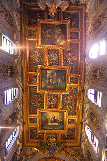 Ceiling of Chiesa di San Bartolomeo