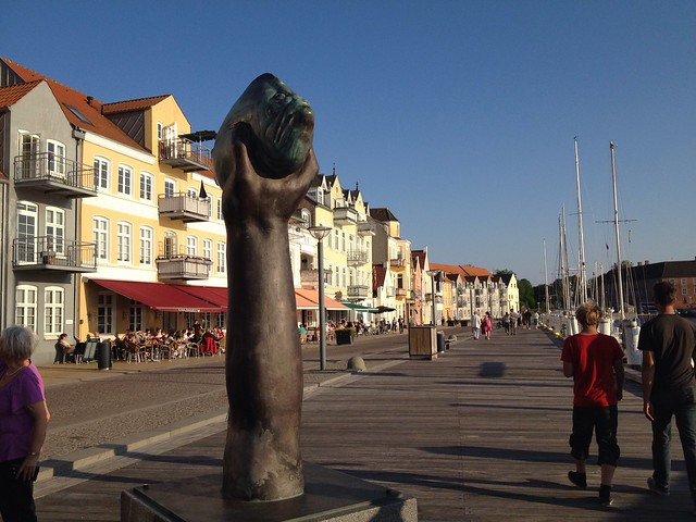 The fishhand on Sonderborg Harbour