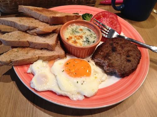 Café Vitus的早午餐