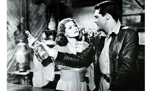 Rita Hayworth  in her break into ''A'' Movies
