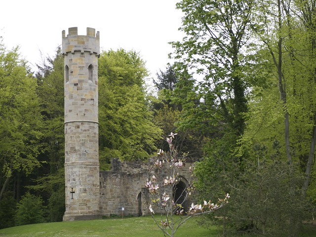 Folly at Hardwick Hall Country Park