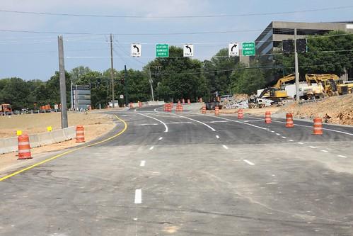 New Westbound Ramp