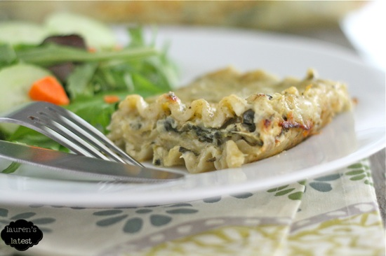 Spinach and Artichoke Lasagna 2