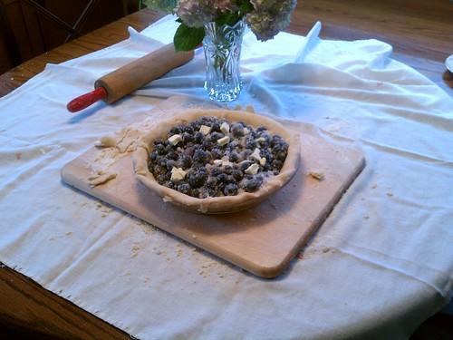 SpyMom made a pie