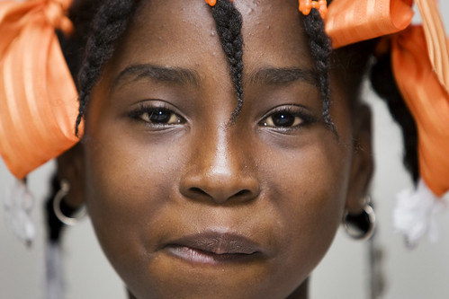 Portrait of Haitian Girl