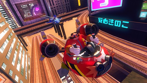 Sonic & All-Stars Racing Transformed - E3 2012