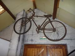 Old bike, Cider Farm, Saint-Jean-des-Champs