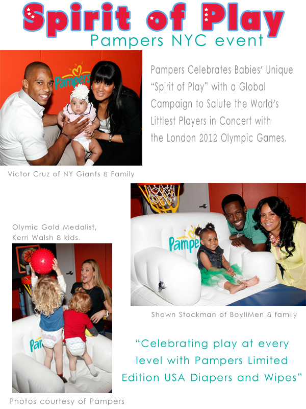 Spirit of Play Pampers NYC Event