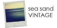 sea sand vintage
