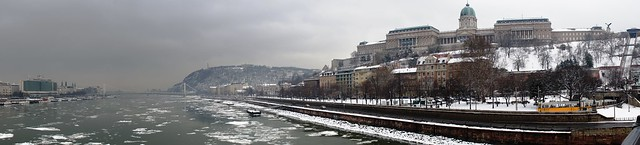 Borongós budapesti panoráma