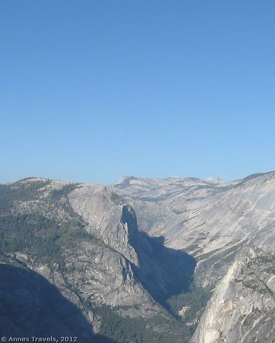 View down Yosemite Valley from Glacier Point, Yosemite National Park, California