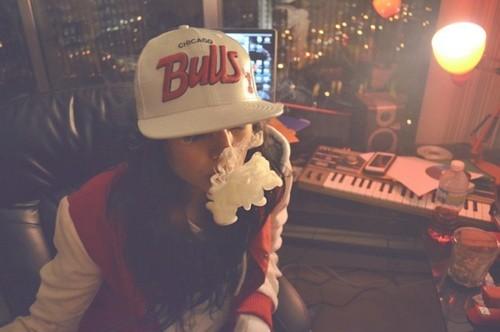 chicago-bulls-dope-girl-smoke-swag-Favim.com-408919 | Flickr ...