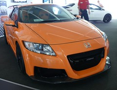 Honda CR-Z Mugen orange 2011 vr