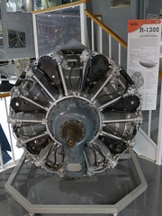 Wright R-1300 radial aircraft engine