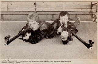 District Championships 50m rifle prone position / DM 50m korthåll liggande 1983