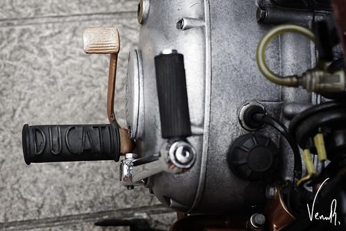 Ducati's detail