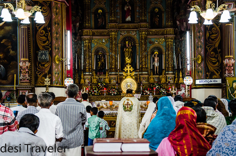 Lent Prayer Portuguese Church Champakulam Alleppey