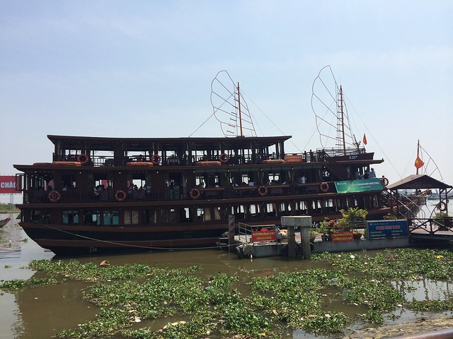 Party boat on the Saigon River
